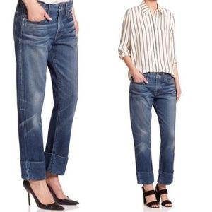 Frame Denim Le Grand Garcon Boyfriend Cuff Jeans